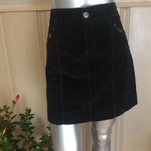 Athleta Velvet Skirt